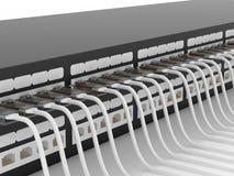 Equipamento de rede ativo. Router. Imagem de Stock