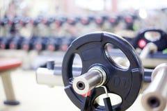 Equipamento de treino do peso Foto de Stock Royalty Free
