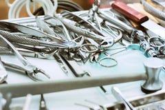 Equipamento dental Imagens de Stock
