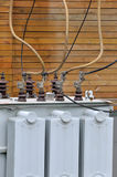 Equipamento do conversor elétrico Foto de Stock Royalty Free