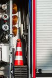 Equipamento do corpo dos bombeiros Imagem de Stock