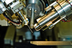 Equipamento do cristalografia Fotografia de Stock Royalty Free