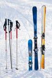 Equipamento do esqui imagens de stock