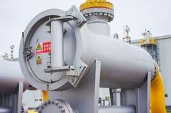 Equipamento do gasoduto Imagens de Stock Royalty Free