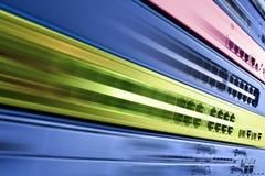 Equipamento do Internet da telecomunicação, centro de dados rápido Fotos de Stock Royalty Free