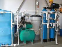 Equipamento do processamento químico Foto de Stock Royalty Free