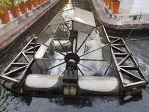 Equipamento do tratamento de águas residuais Fotografia de Stock