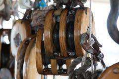 Equipamento do veleiro Fotos de Stock Royalty Free