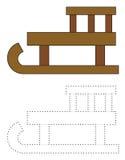 Equipamento dos desenhos animados para a atividade de lazer Imagem de Stock Royalty Free