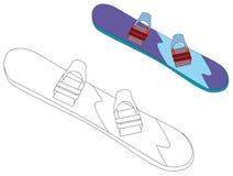 Equipamento dos desenhos animados para a atividade de lazer Foto de Stock Royalty Free