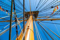 Equipamento dos navios fotografia de stock royalty free