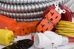 Equipamento elétrico imagens de stock