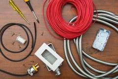 Equipamento elétrico Imagem de Stock Royalty Free
