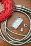 Equipamento elétrico Imagem de Stock