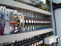 Equipamento elétrico industrial Fotos de Stock Royalty Free