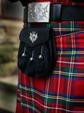 Equipamento escocês tradicional Fotos de Stock
