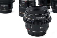 Equipamento fotográfico Fotografia de Stock