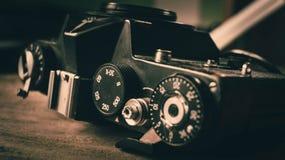 Equipamento fotográfico velho Imagem de Stock Royalty Free