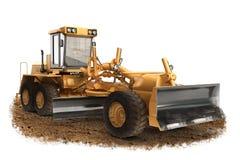 Equipamento genérico da maquinaria de construção do graduador da estrada da construção Fotografia de Stock