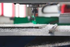 Equipamento industrial da broca da máquina do CNC da produção com tornos Fotografia de Stock