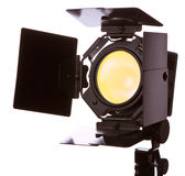 Equipamento leve video Fotografia de Stock