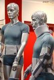 Equipamento médico. Ataduras da fixação em manequins. imagem de stock royalty free