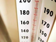 Equipamento médico - medidor da pressão sanguínea Fotografia de Stock Royalty Free