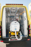 Equipamento médico para a pandemia do ebola ou do vírus Imagem de Stock Royalty Free