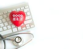 Equipamento médico saudável do bom alimento natural médico dos cuidados médicos sobre Fotos de Stock Royalty Free