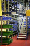 Equipamento moderno para o armazém imagens de stock