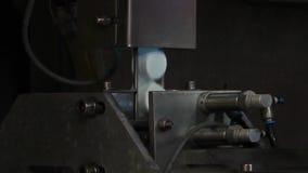 Equipamento na fábrica do leite video estoque