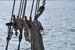 Equipamento no mar Fotos de Stock