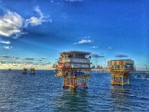 Equipamento no mar Imagem de Stock