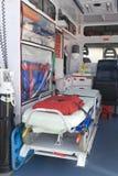 Equipamento no veículo da emergência Imagem de Stock
