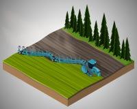 Equipamento para a agricultura Ilustração Royalty Free