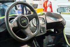 Equipamento para carros bondes e realizações no campo de c Fotografia de Stock