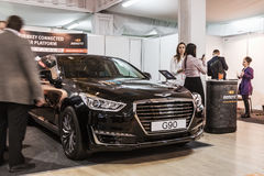Equipamento para carros bondes e realizações no campo do co Imagem de Stock