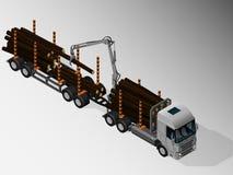 Equipamento para a entrega da carga Ilustração do Vetor
