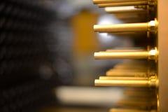 Equipamento para a fabricação de pré-formas para garrafas plásticas a máquina da imprensa produz garrafas para garrafas plásticas Imagem de Stock Royalty Free