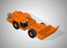 Equipamento para a indústria da alto-mineração Foto de Stock Royalty Free