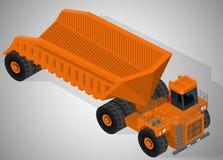 Equipamento para a indústria da alto-mineração Fotos de Stock