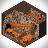 Equipamento para a indústria da alto-mineração Fotografia de Stock Royalty Free