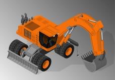 Equipamento para a indústria da construção civil Imagem de Stock