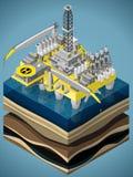 Equipamento para a indústria de petróleo e gás Fotografia de Stock