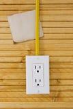Equipamento para instalar tomadas elétricas Imagem de Stock Royalty Free