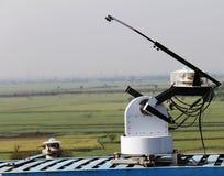 Equipamento para a medida da radiação solar Fotos de Stock Royalty Free