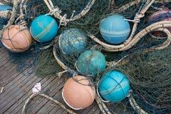 Equipamento para o pescador imagem de stock