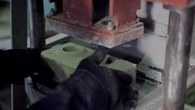 Equipamento para a produção do tijolo filme