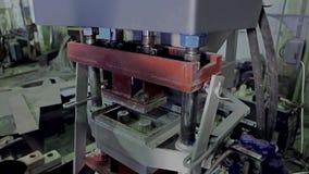 Equipamento para a produção do tijolo video estoque