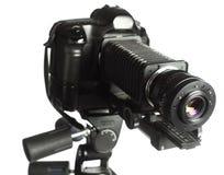 Equipamento profissional da microfotografia Imagem de Stock Royalty Free
